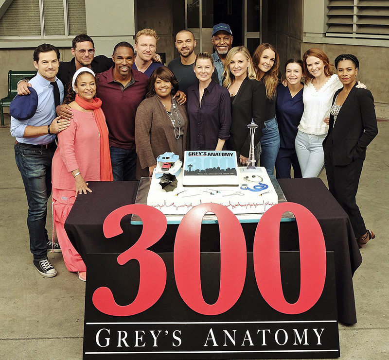Congratulations to Grey\'s Anatomy for 300 episodes - Chandra Wilson